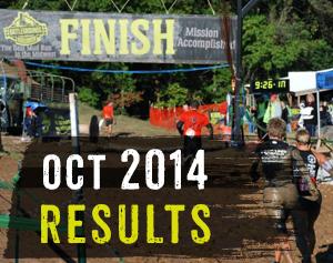 October 2014 Results