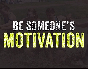 Challenge 2: Be someone's motivation